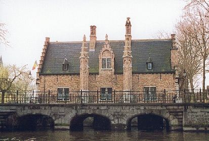 Bruges from the Canal