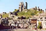 Corfe Castle, UK