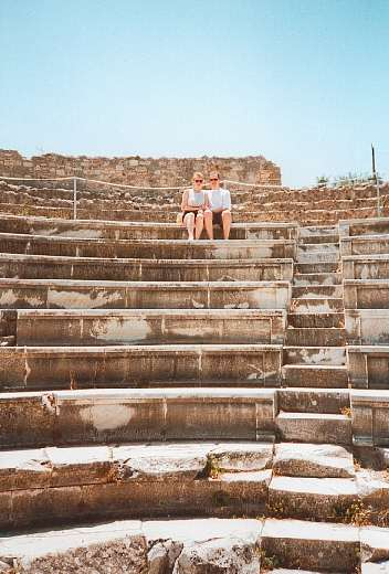The Kos Town amphitheatre